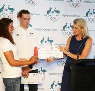 Chiller recognised by IOC for sport gender equality