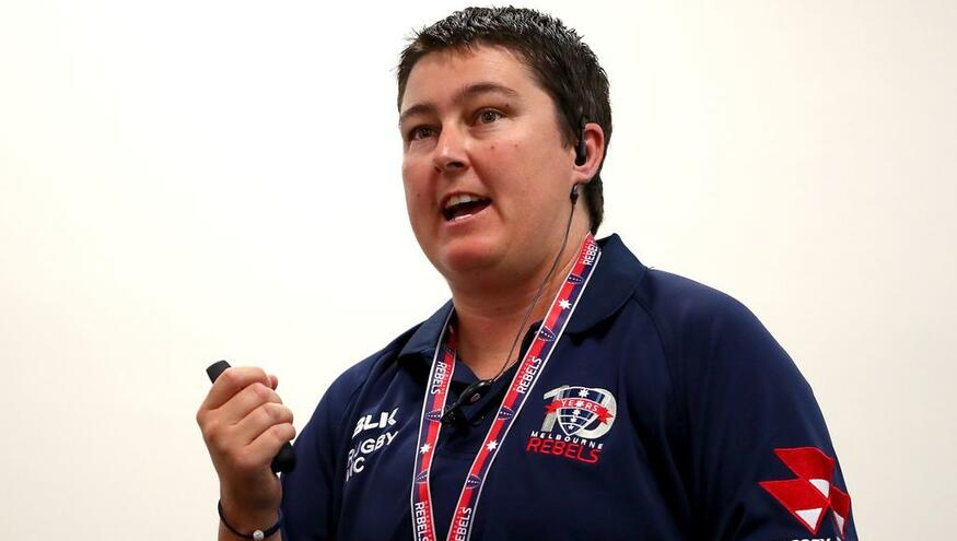 Rugby Club Coach speaks of her obligation to give back