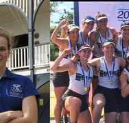 Gaffney Awarded John Hall Rowing Scholarship