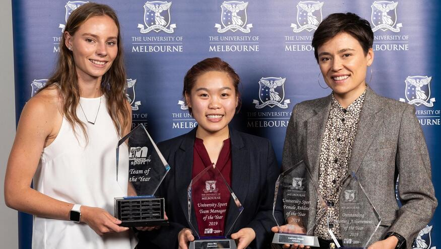 Olympic Hopefuls Among Student-Athletes Recognised at 2019 Blues Awards